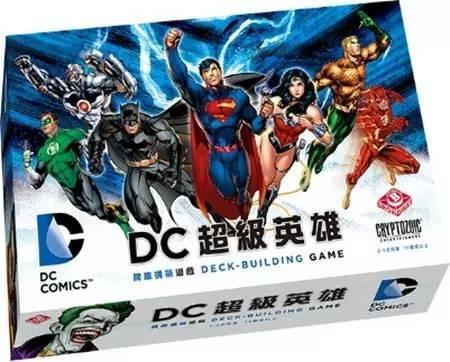 DC超級英雄牌組建構式遊戲_(中文版)